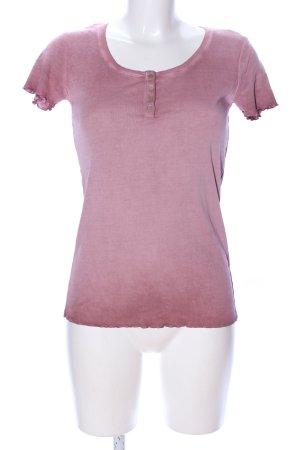 Esprit Longshirt pink Farbverlauf Casual-Look