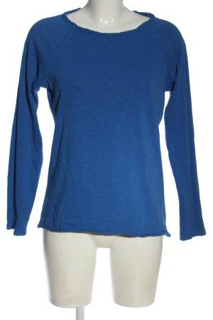 Esprit Longsleeve blau meliert Casual-Look