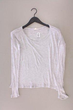 Esprit Longsleeve-Shirt Größe M Langarm grau