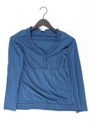 Esprit Longsleeve-Shirt Größe S Langarm blau aus Baumwolle