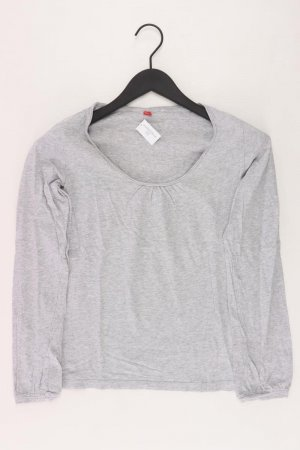 Esprit Longsleeve-Shirt Größe S Langarm grau aus Baumwolle