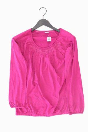 Esprit Longsleeve-Shirt Größe S Langarm pink aus Baumwolle