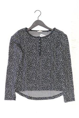 Esprit Longsleeve-Shirt Größe S Langarm schwarz aus Baumwolle