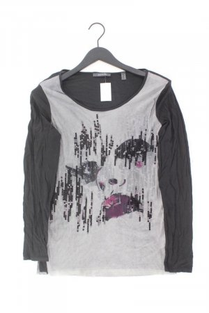 Esprit Longsleeve-Shirt Größe XL Langarm mit Pailletten mehrfarbig aus Polyester