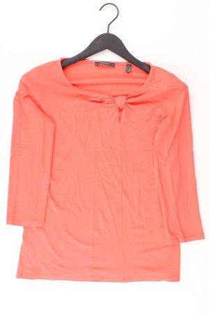 Esprit Longsleeve-Shirt Größe XL Langarm orange aus Viskose