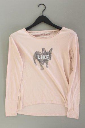 Esprit Manica lunga rosa antico-rosa pallido-rosa chiaro-rosa Cotone