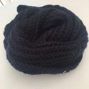 Esprit Écharpe en tricot bleu foncé