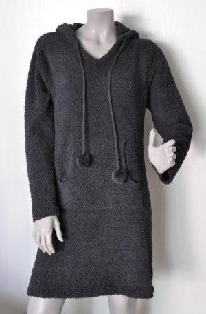 Esprit Huisjapon donkergrijs-antraciet Polyester