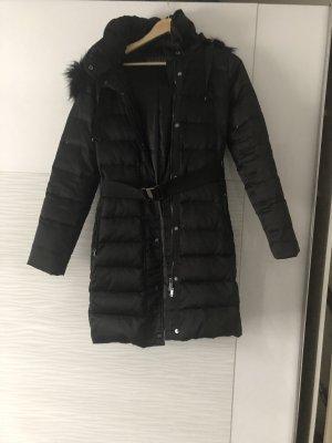 Esprit Cappotto con cappuccio nero