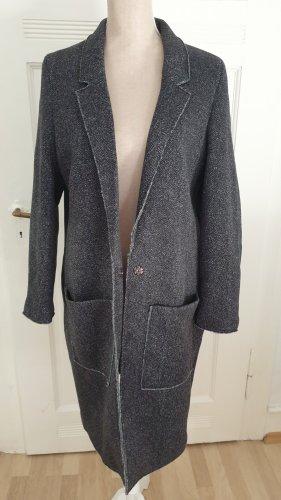 Esprit Manteau polaire taupe-gris anthracite
