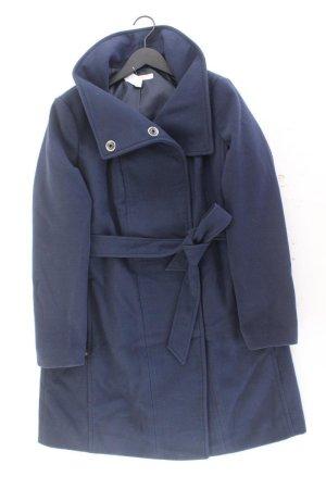 Esprit Mantel Größe 42/44 mit Gürtel blau aus Polyester