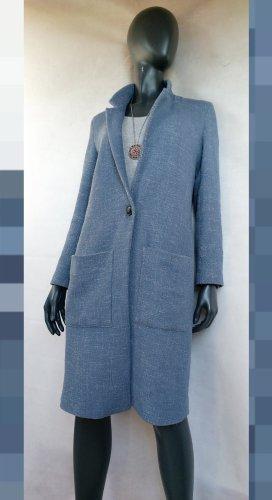 Esprit Mantel in Blau meliert Gr. 38