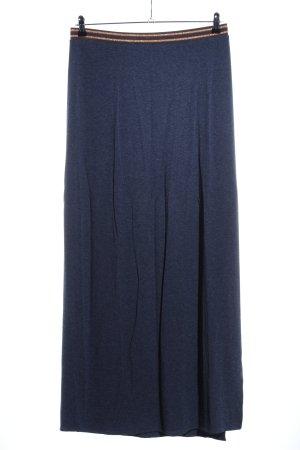 Esprit Maxirock blau meliert Casual-Look