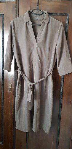 Esprit Midi Kleid in khaki 38