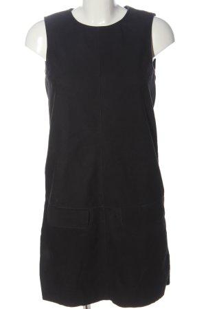 Esprit Vestido de cuero negro look casual