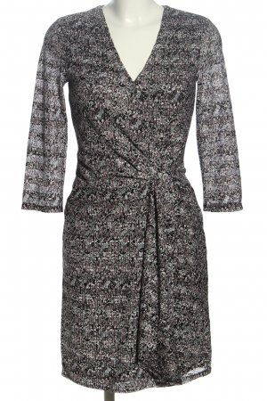 Esprit Robe mi-longue gris clair imprimé allover style décontracté