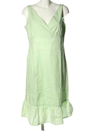 Esprit Robe mi-longue vert style décontracté