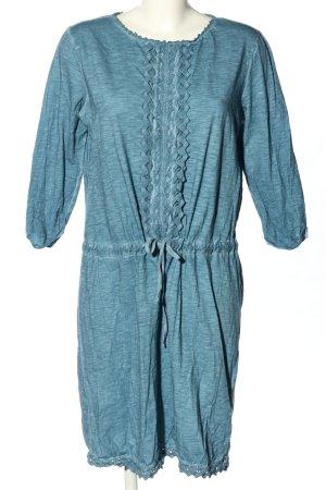 Esprit Jerseykleid blau meliert Casual-Look