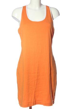 Esprit Robe mi-longue orange clair style décontracté
