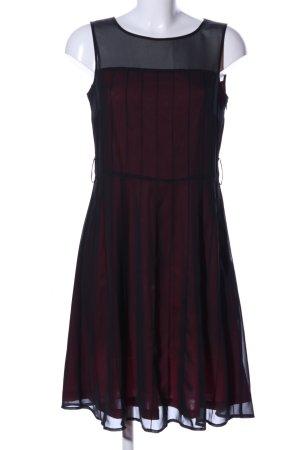 Esprit Midikleid schwarz-rot Elegant