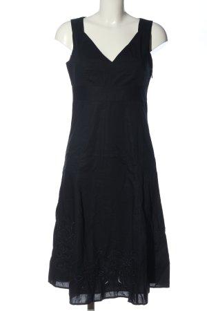 Esprit Robe mi-longue noir style d'affaires