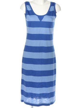 Esprit Robe mi-longue bleu motif rayé style décontracté