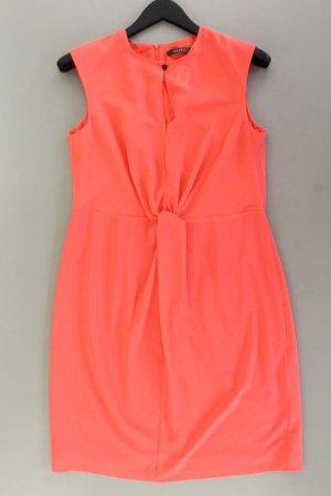 Esprit Midikleid Größe 40 Ärmellos orange aus Polyester
