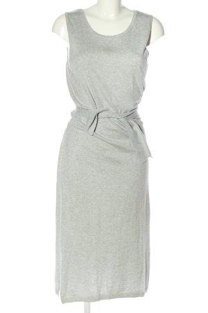 Esprit Robe mi-longue gris clair moucheté style décontracté