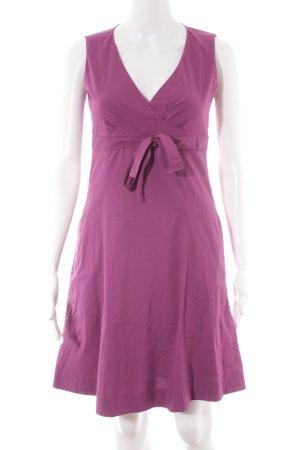 Esprit Robe mi-longue violet style décontracté