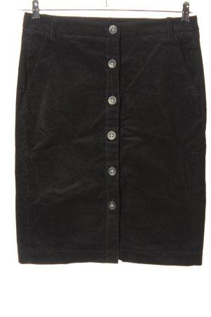 Esprit Spódnica midi czarny Wzór w paski W stylu casual