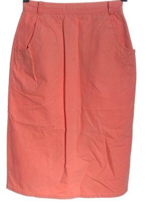 Esprit Spódnica midi jasny pomarańczowy W stylu casual