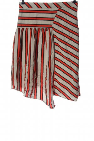 Esprit Asymmetry Skirt striped pattern casual look