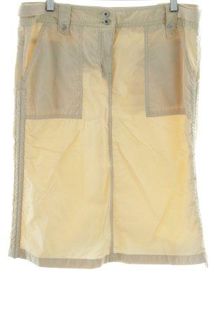 Esprit Spódnica midi kremowy W stylu casual