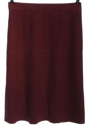 Esprit Spódnica midi czerwony W stylu casual