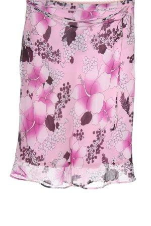 Esprit Tulip Skirt pink allover print casual look