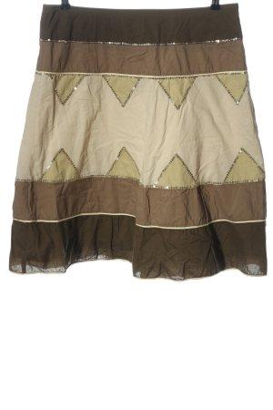 Esprit Spódnica midi brązowy-w kolorze białej wełny W stylu casual