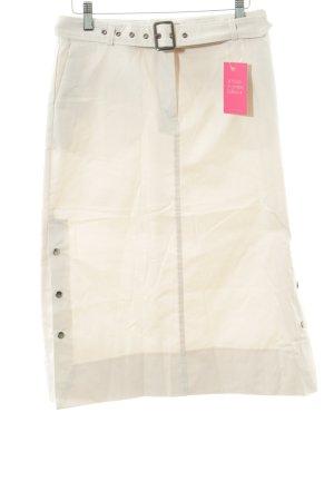 Esprit Spódnica midi jasnobeżowy W stylu casual