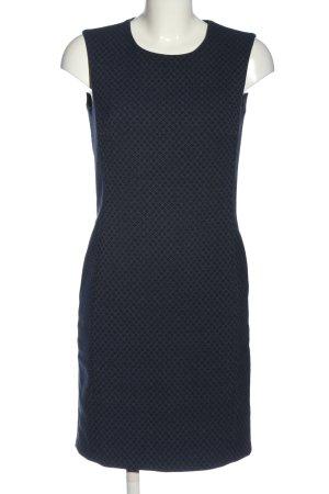 Esprit Minikleid blau Allover-Druck Casual-Look