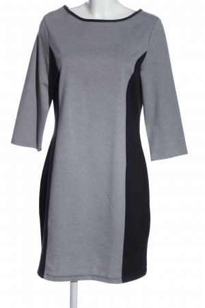 Esprit Minikleid hellgrau-schwarz meliert Casual-Look