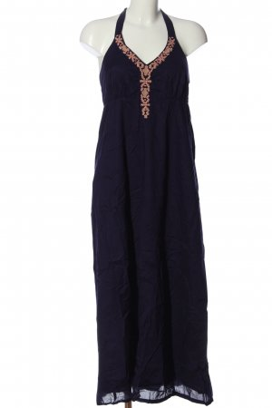 Esprit Halter Dress embroidered lettering casual look