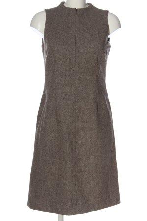 Esprit Minikleid braun-weiß Casual-Look