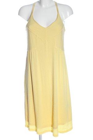 Esprit Minikleid blassgelb Casual-Look