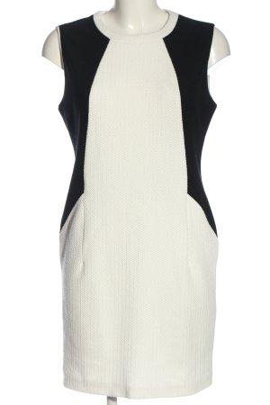 Esprit Minikleid weiß-schwarz Elegant