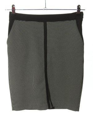 Esprit Minirock schwarz-weiß Business-Look