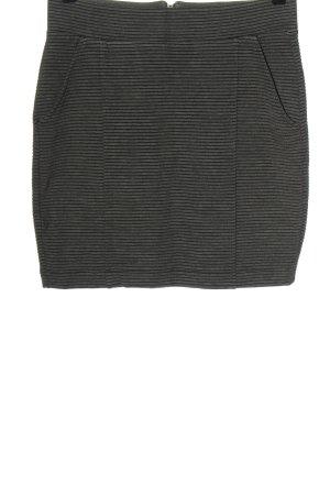 Esprit Minirock schwarz-hellgrau meliert Casual-Look