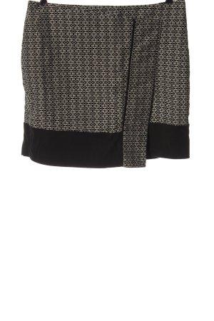 Esprit Minirock schwarz-weiß Allover-Druck Elegant