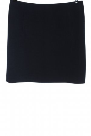 Esprit Minirock schwarz-blau Allover-Druck Casual-Look