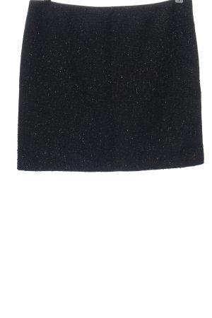 Esprit Minirock schwarz-goldfarben meliert Elegant
