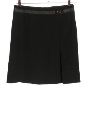 Esprit Minirock schwarz Schriftzug gedruckt Casual-Look