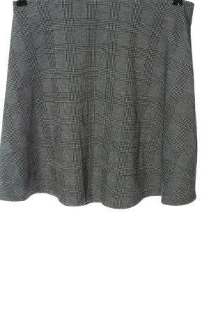 Esprit Minirock schwarz-weiß Allover-Druck Casual-Look